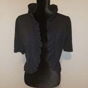 Dress Barn Black Shrug Sz XL Like New!